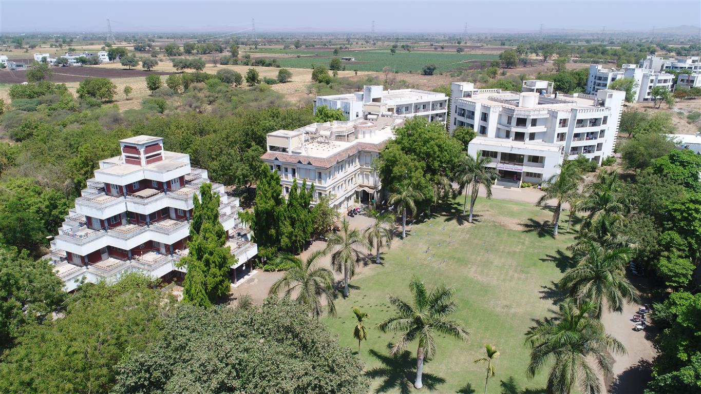 boys and girls hostel - aerial view